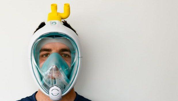 Coronavirus: da maschera da snorkeling a respiratore